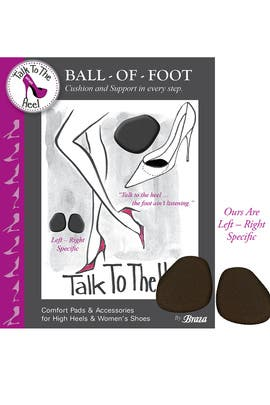Ball-of-Foot Comfort Pad by Talk to the Heel by Braza