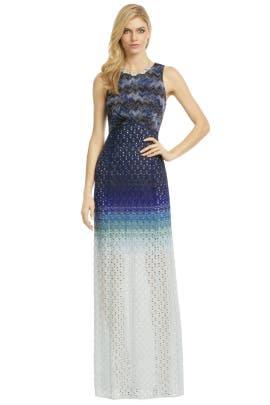 Missoni - Ocean Ombre Gown