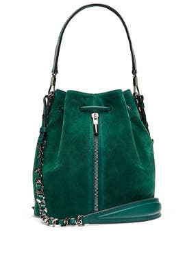 Green Cynnie Bucket Bag by Elizabeth and James Accessories
