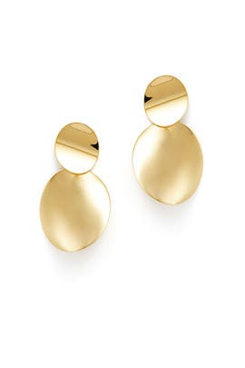 Gold Double Drop Earrings by kate spade new york accessories
