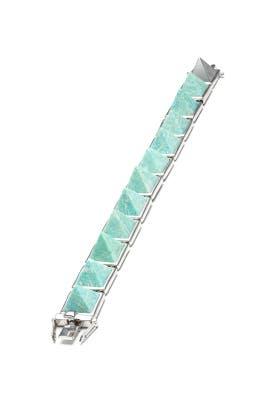 Eddie Borgo - Amazonite Gemstone Pyramid Bracelet