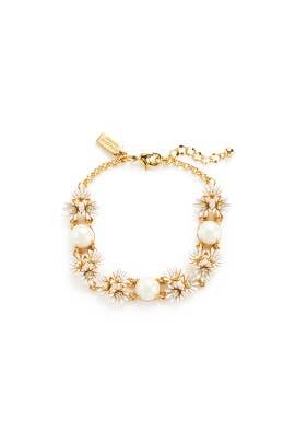 White Daisy Bracelet by kate spade new york accessories