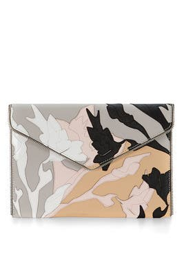 Layered Saffiano Leo Clutch by Rebecca Minkoff Handbags