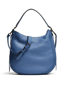 Blue Unlined Convertible Hobo Bag by Rebecca Minkoff Accessories