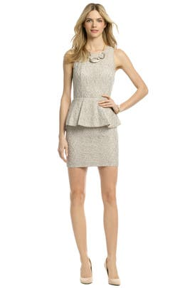 Sachin + Babi - Love Comes Peplum Dress