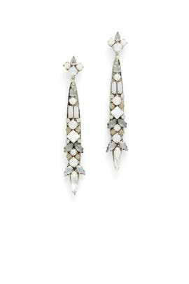 Milky Way Linear Earring by Erickson Beamon