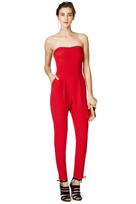 Hunter Bell - Maraschino Jumpsuit