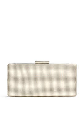 Pearl Slim Frame Clutch by Whiting & Davis
