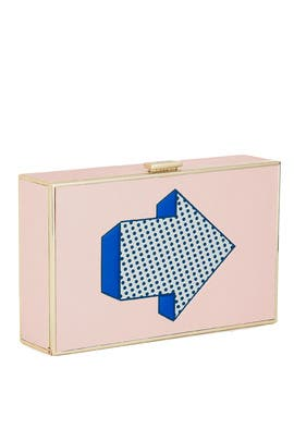 Imperial Arrows Clutch by Anya Hindmarch