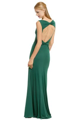 Issa - Great Britain Green Gown