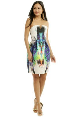 Josh Goot - Rainbow Fossil Cocktail Dress