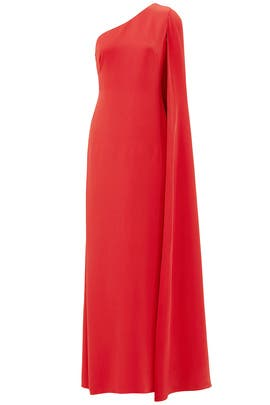 Red Carolina Gown by Jill Jill Stuart