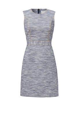 Denim Tweed Dress by Jason Wu
