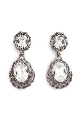 Ciner - Marry Me Teardrop Earrings