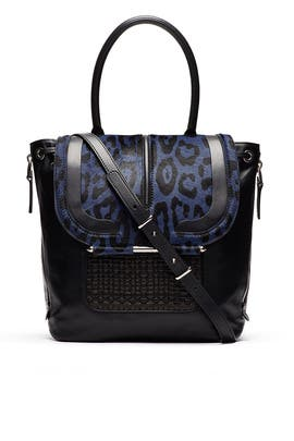 Navy Air Bag by Barbara Bui Handbags