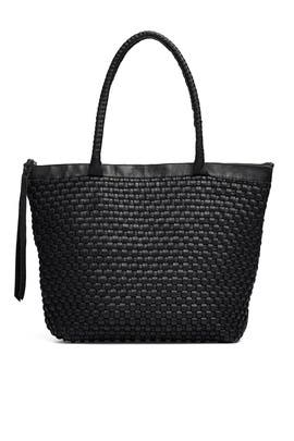 Woven Livia Tote by Cleobella Handbags