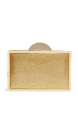 Gold Jeanine Clutch by Franchi