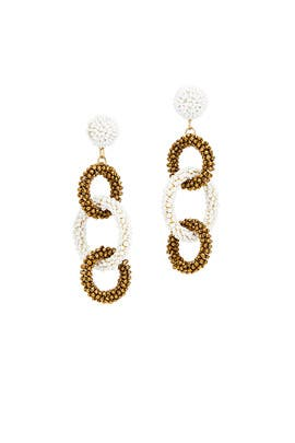 Dominique Drop Earrings by Area Stars