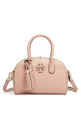 Sand McGraw Small Satchel by Tory Burch Accessories