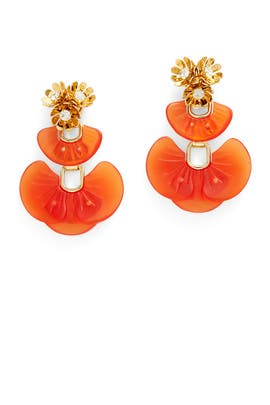 Amber Island Earrings by Lele Sadoughi
