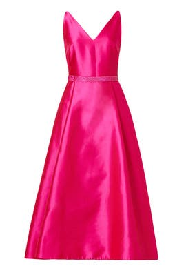 Plunging Dress by ML Monique Lhuillier