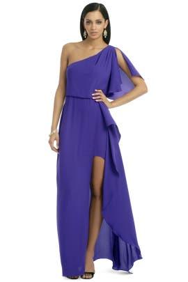 BCBGMAXAZRIA - Kendal Ruffle Gown