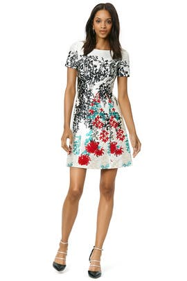 Blumarine - Garden of Delight Dress