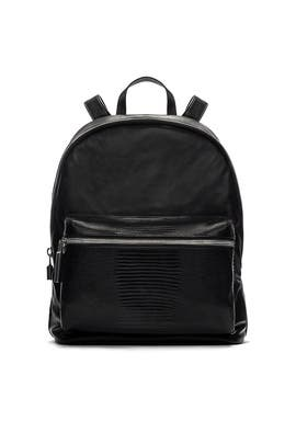 Elizabeth and James Accessories - Black Cynnie Backpack