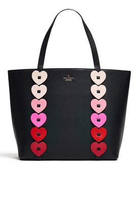 Yours Truly Heart Tote by kate spade new york accessories