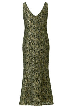 Carmen Marc Valvo - Goldify Yourself Gown