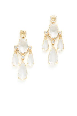Gold and Crystal Special Occasion Earrings by kate spade new york accessories