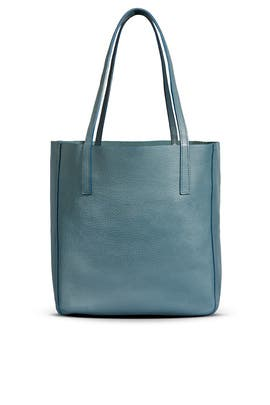 Teal Medium Shopper by Shinola