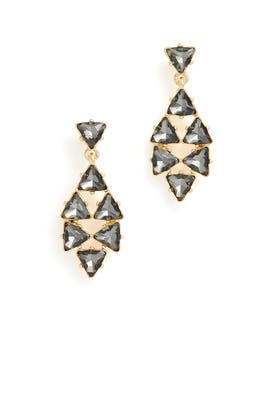 Triangle Drop Earrings by Slate & Willow Accessories