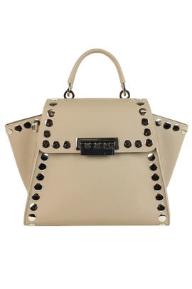 Studded Eartha Iconic Top Handle Bag by ZAC Zac Posen Handbags