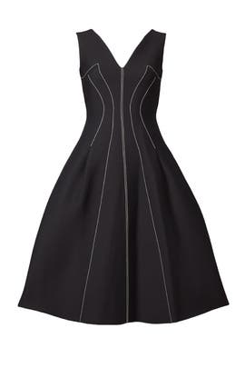 Contrast Seams Dress by DEREK LAM