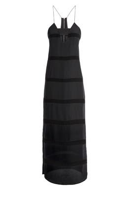 Black Midnight Maxi Dress by FINDERS KEEPERS