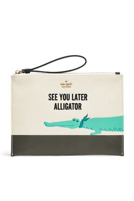 Gator Bella Pouch by kate spade new york accessories