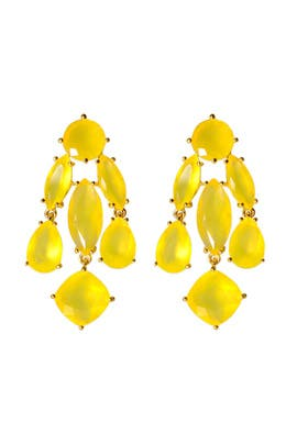 kate spade new york accessories - Canary Statement Earrings