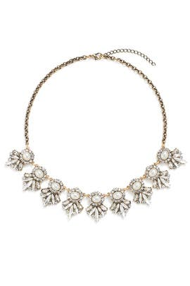 Royal Crest Crystal Necklace by Slate & Willow Accessories