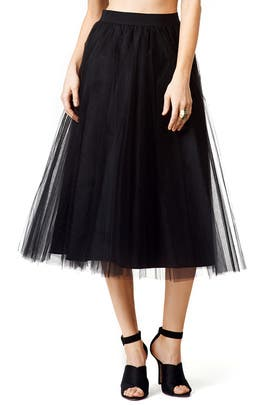 Windswept Skirt by Badgley Mischka