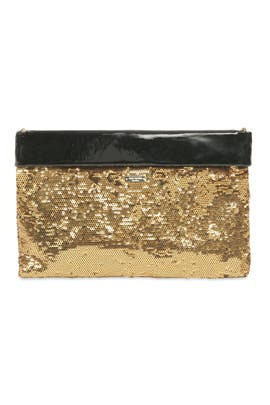 Agathe Gold Sparkle Summit Bag by kate spade new york accessories