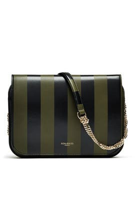 Striped Crossbody Bag by Nina Ricci Accessories