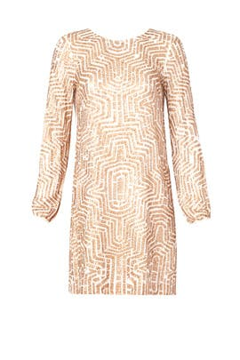 Badgley Mischka - Sequin Maze Shift