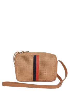Natural Striped Mini Sac Bag by Clare V.