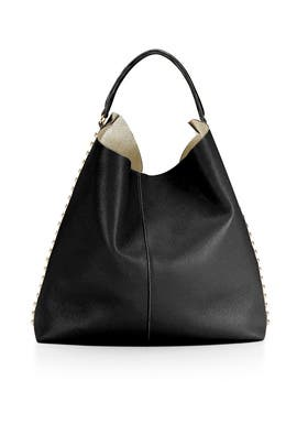 Black Unlined Hobo Bag by Rebecca Minkoff Handbags