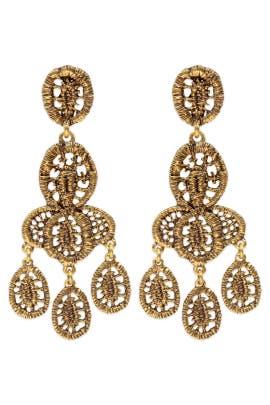 Oscar de la Renta - Bandra Earrings