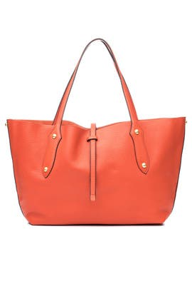 Coral Isabella Tote by Annabel Ingall