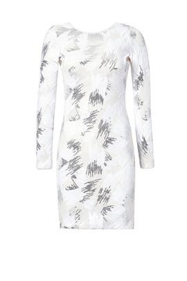 White Light Sheath by BCBGMAXAZRIA