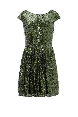 Garden Shimmer Dress by Badgley Mischka