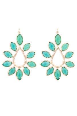 Kendra Scott - Nyla Emerald Earrings